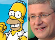 Harper Tweets Simpsons Video With Bacon Message