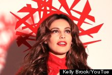 Kelly Brook Gets Raunchy For Her New Calendar