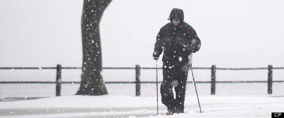 QUEBEC SNOW STORM