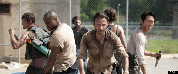THE WALKING DEAD SEASON 4 DRAMA