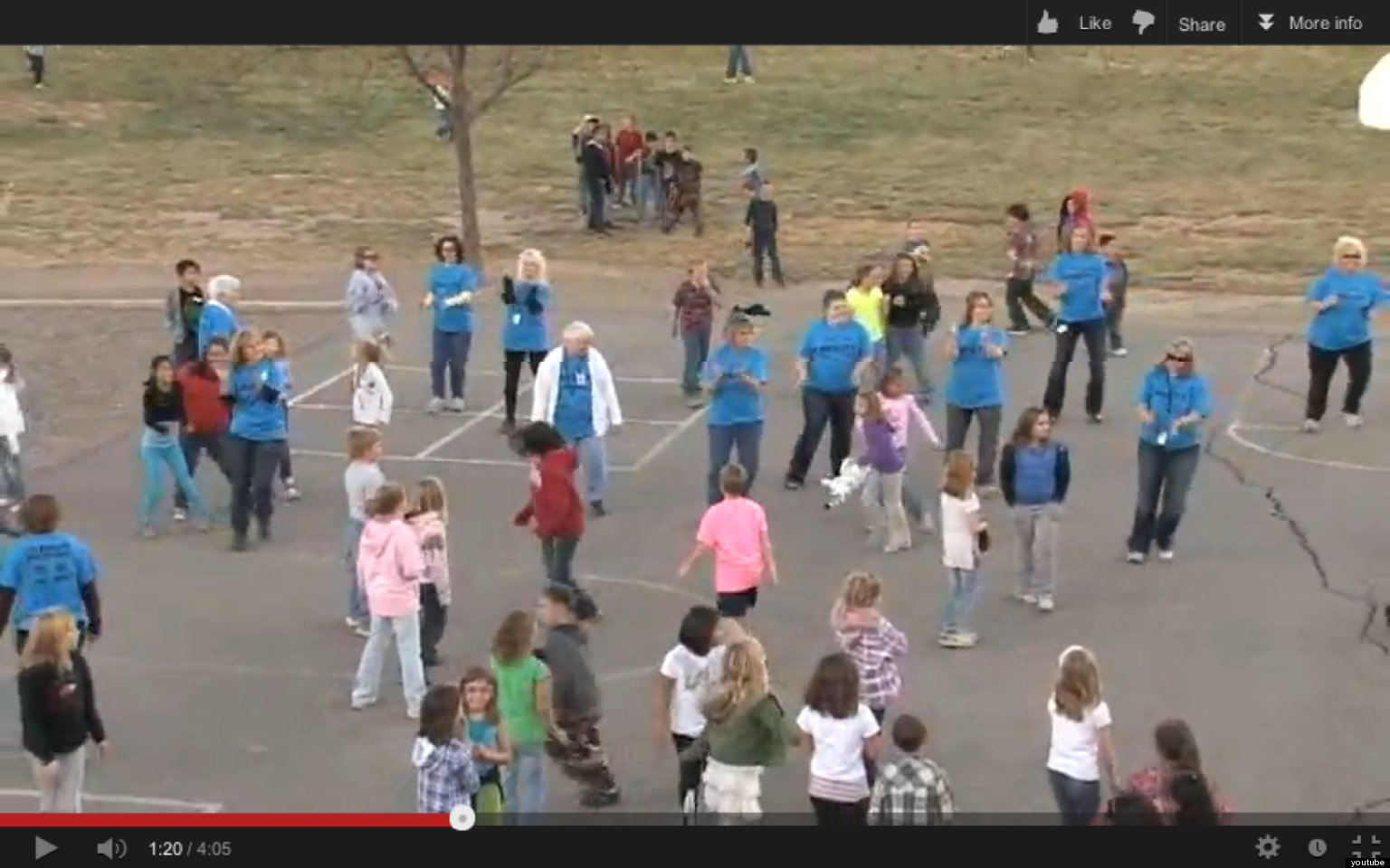 Anti-Bullying Flash Mob: Colorado Teachers And Students ...