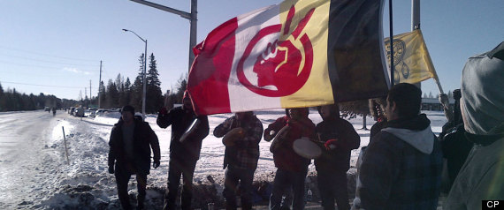 Idle No More Protest Ontario