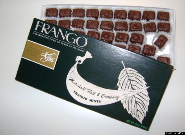 marshall fields frango mints