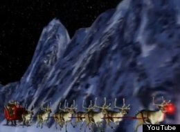 WATCH: Here Comes Santa Claus!