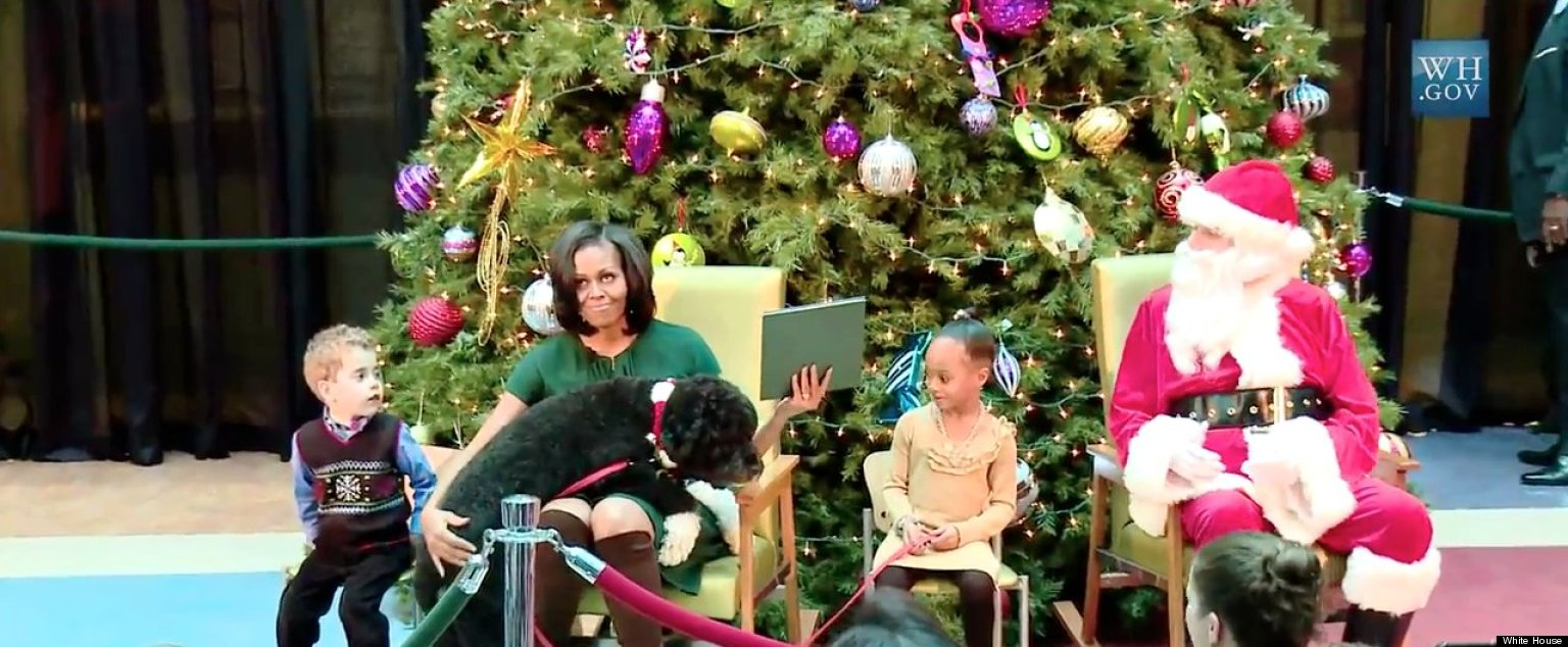 Michelle Obama Reads ''Twas The Night Before Christmas' At ...