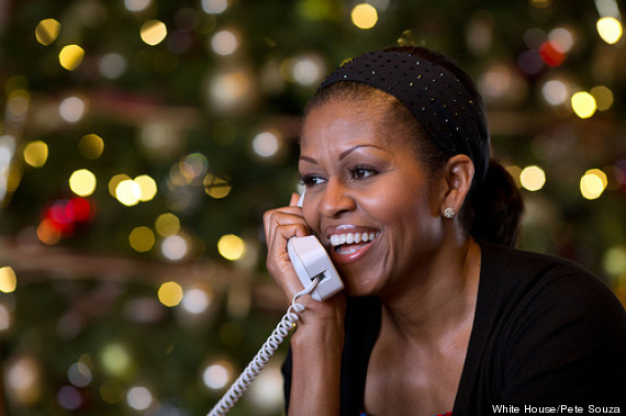 michelle obama christmas eve
