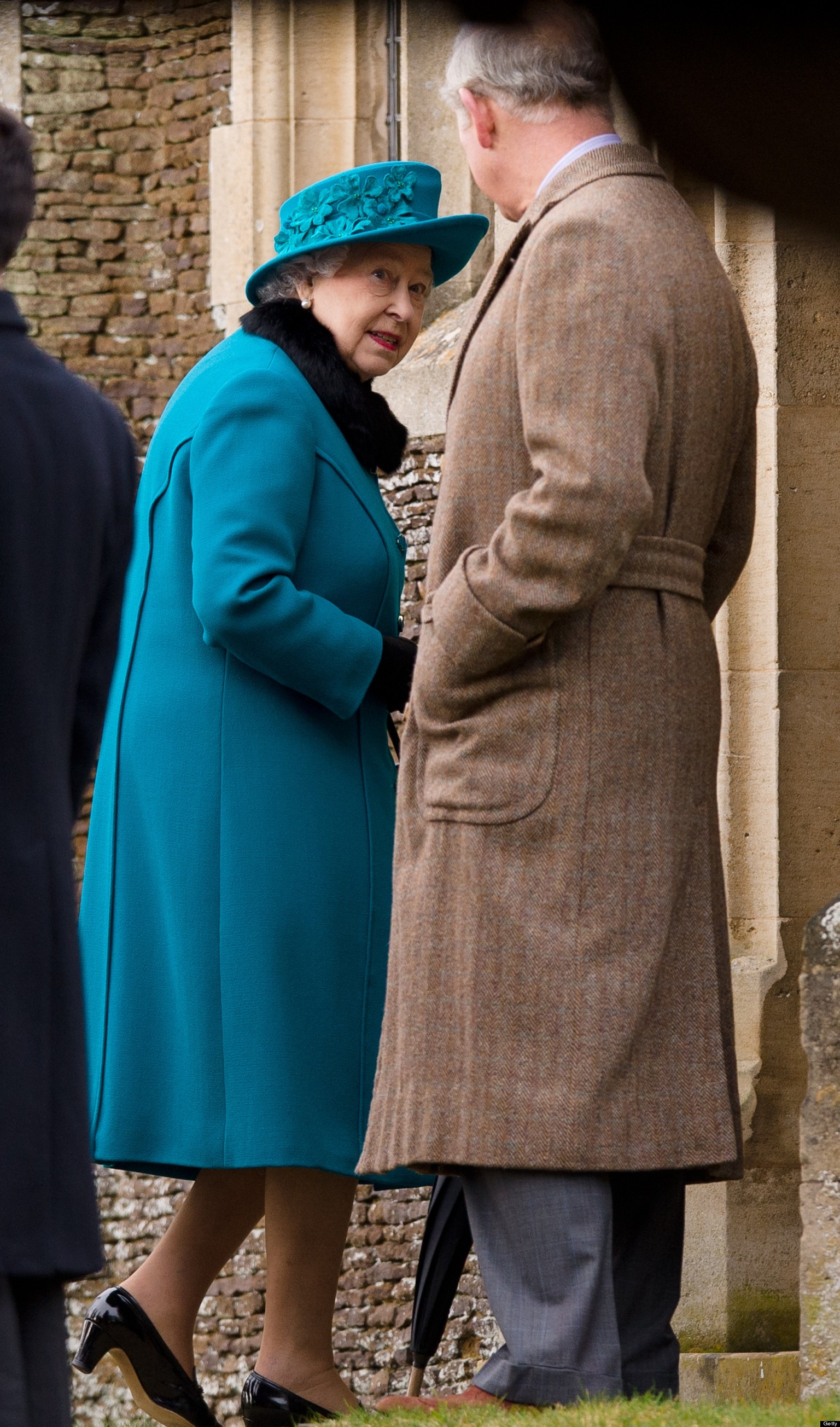 Queen Joins Royals For Christmas Day Service At St Mary Magdalene Church At Sandringham ...