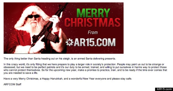 christmas message from ar15