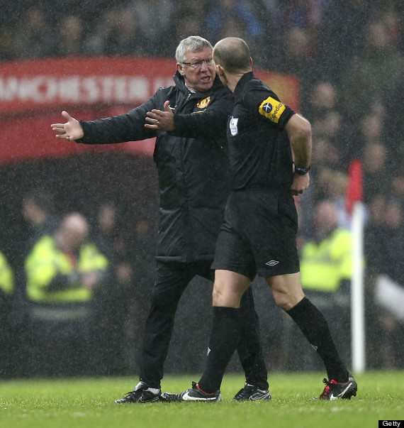 sir alex ferguson mike dean
