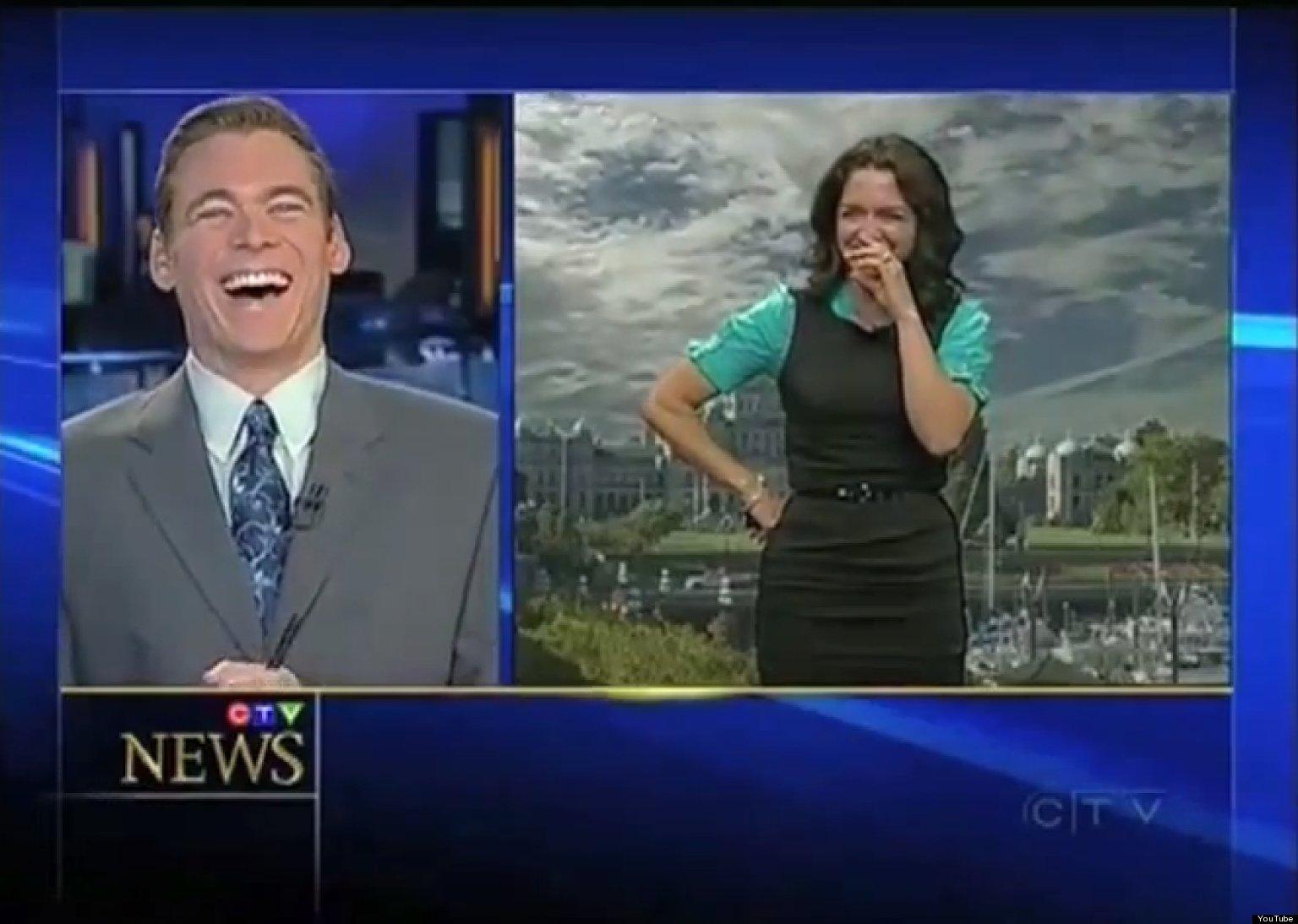 Best News Bloopers Of 2012 (VIDEO)   HuffPost Bloopers