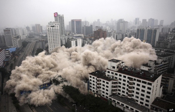 china demolition