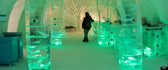ICE HOTEL QUEBEC