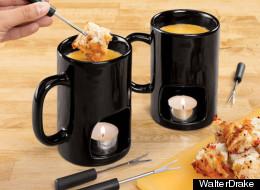This Mug Doubles As A Fondue Set
