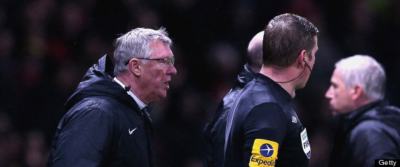 SIR ALEX FERGUSON ALAN PARDEW
