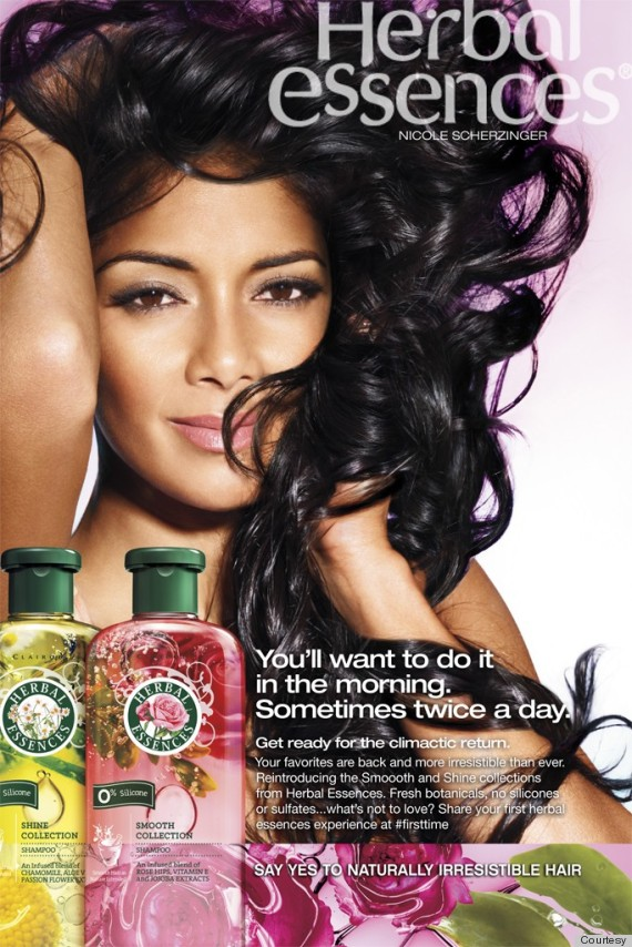 Herbal essences orgasm