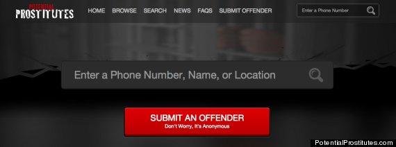 Local prostitute websites