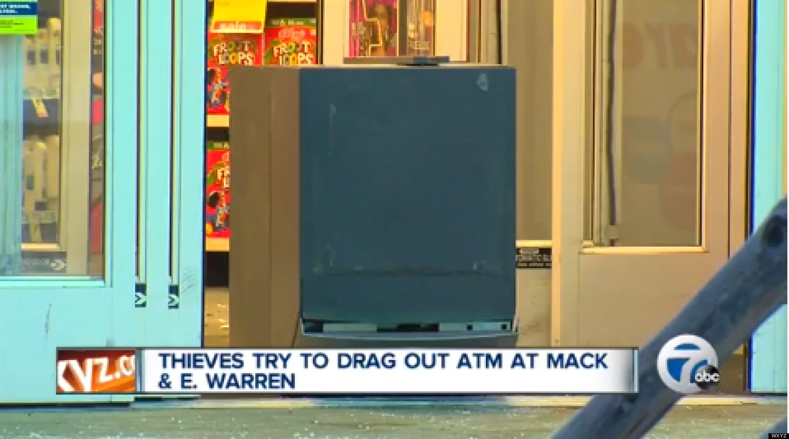 detroit atm robbery  3 instances of attempted cash machine