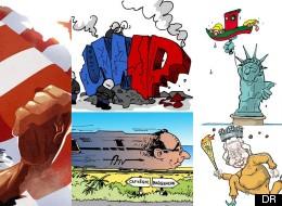 Revivez 2012 avec les dessinateurs du HuffPost!