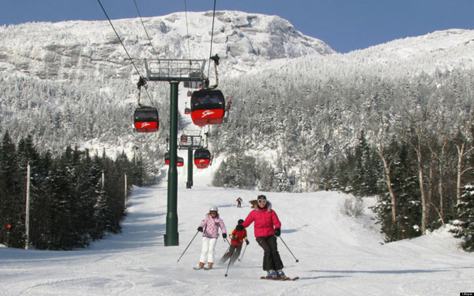 New England S Best Ski Spots For Families Huffpost