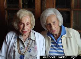 LOOK: World's Oldest Identical Twins Celebrate 103rd Birthday