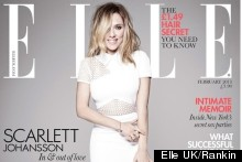 Scarlett Johansson Wows On Elle's February 2013 Cover