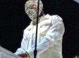 Kanye West Wears Crystal Maison Martin Margiela Mask At Revel Concert (PHOTOS)
