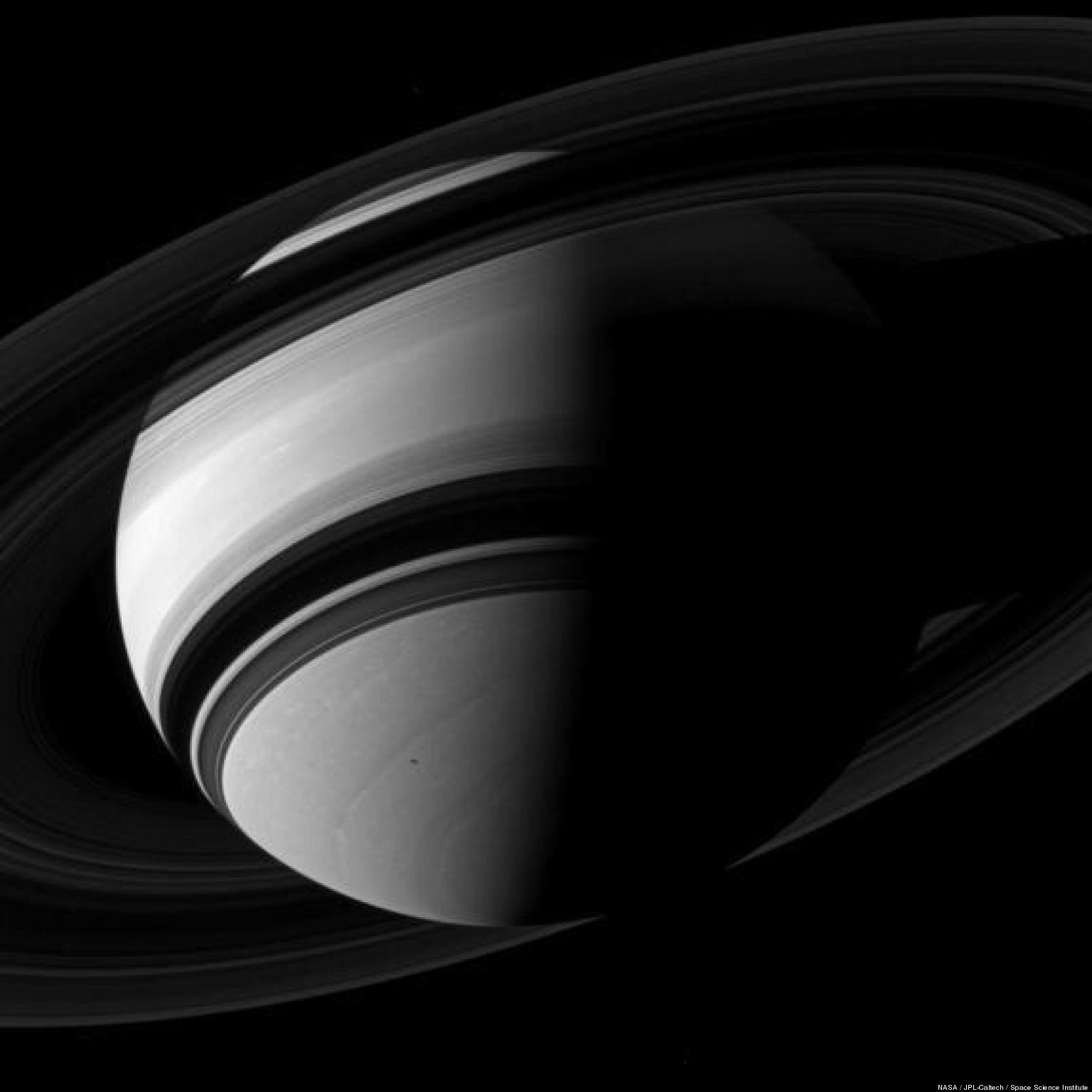 Saturn's Rings, Surface, Moons Captured In Incredible ...