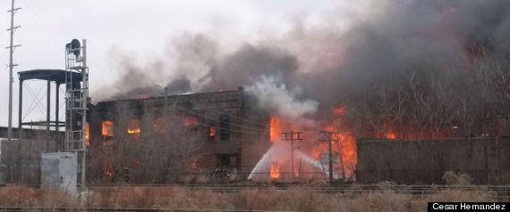 PILSEN WAREHOUSE FIRE