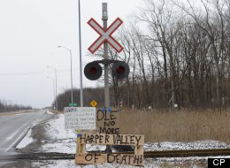 Idle No More Train Track