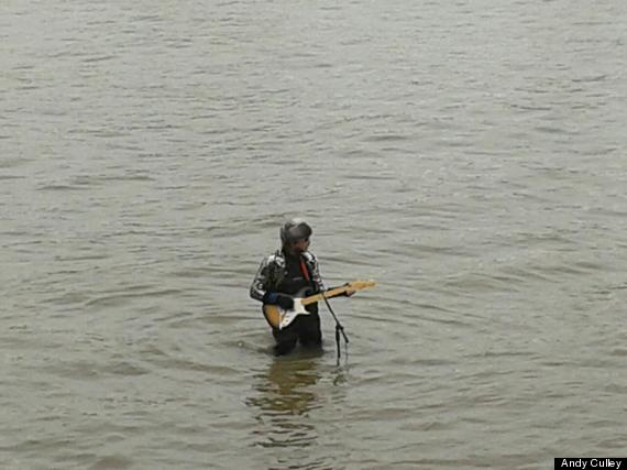 man on thames