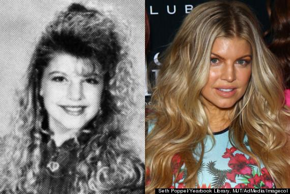 fergie then and now