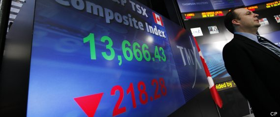 TSX WORST STOCK MARKETS 2012