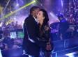 Pregnant Kim Kardashian Does New Year's Eve In A Sheer Dress (PHOTOS)
