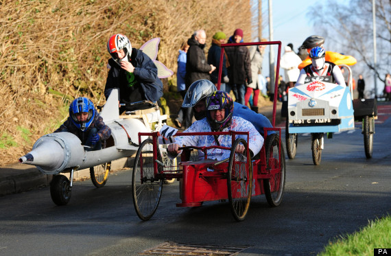sharlston soap box derby