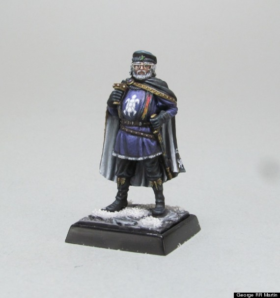george rr martin miniature