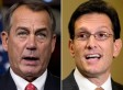 John Boehner, Eric Cantor Split On Fiscal Cliff Deal