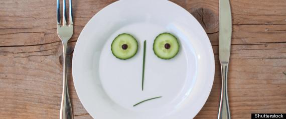 SAD PLATE FOOD
