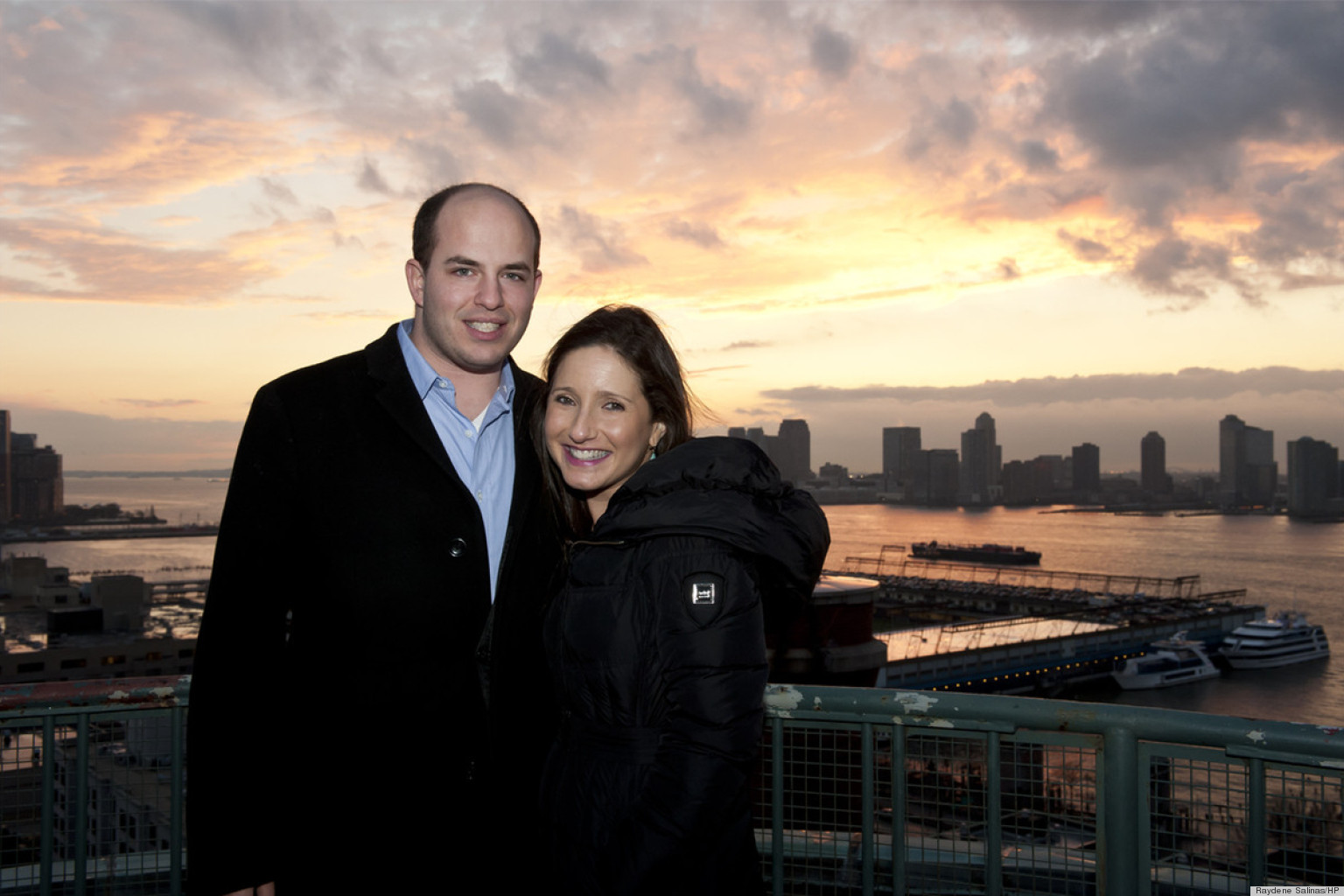 Jamie Shupak And Brian Stelter Show Off Their Diy Home In