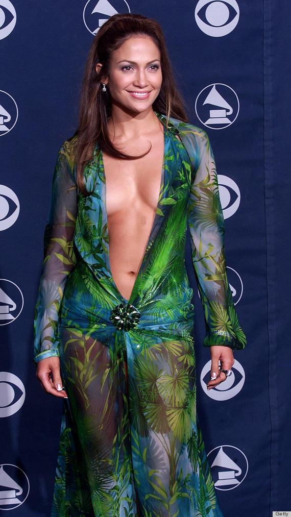 Jennifer Lopez Green Dresses jennifer lopez versace dress