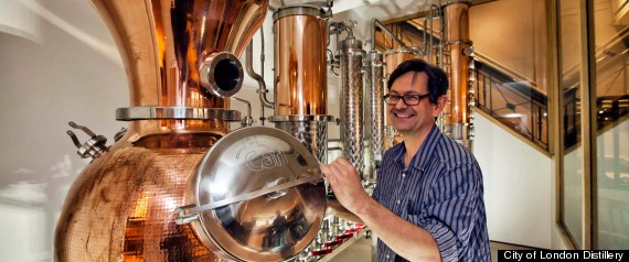 Jamie Baxter City Of London Distillery