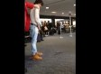 Bronson Pelletier Pees At LAX (VIDEO, NSFW)