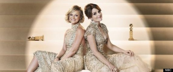 GOLDEN GLOBES 2013 HOSTS TINA FEY AMY POEHLER