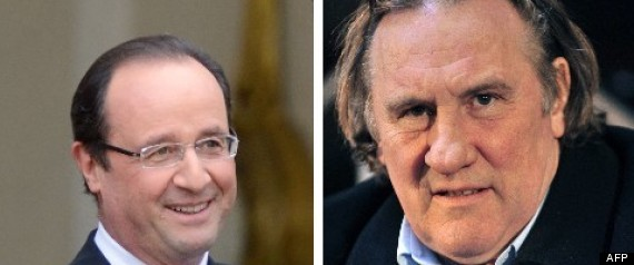 Hollande Depardieu