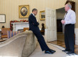 Obama Learns About Sandy Hook Shooting (PHOTO)