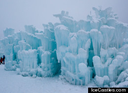 PHOTOS: Ice Castle At Steamboat Looks Out Of Fairytale