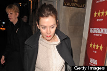 Street Style: Anna Friel In London