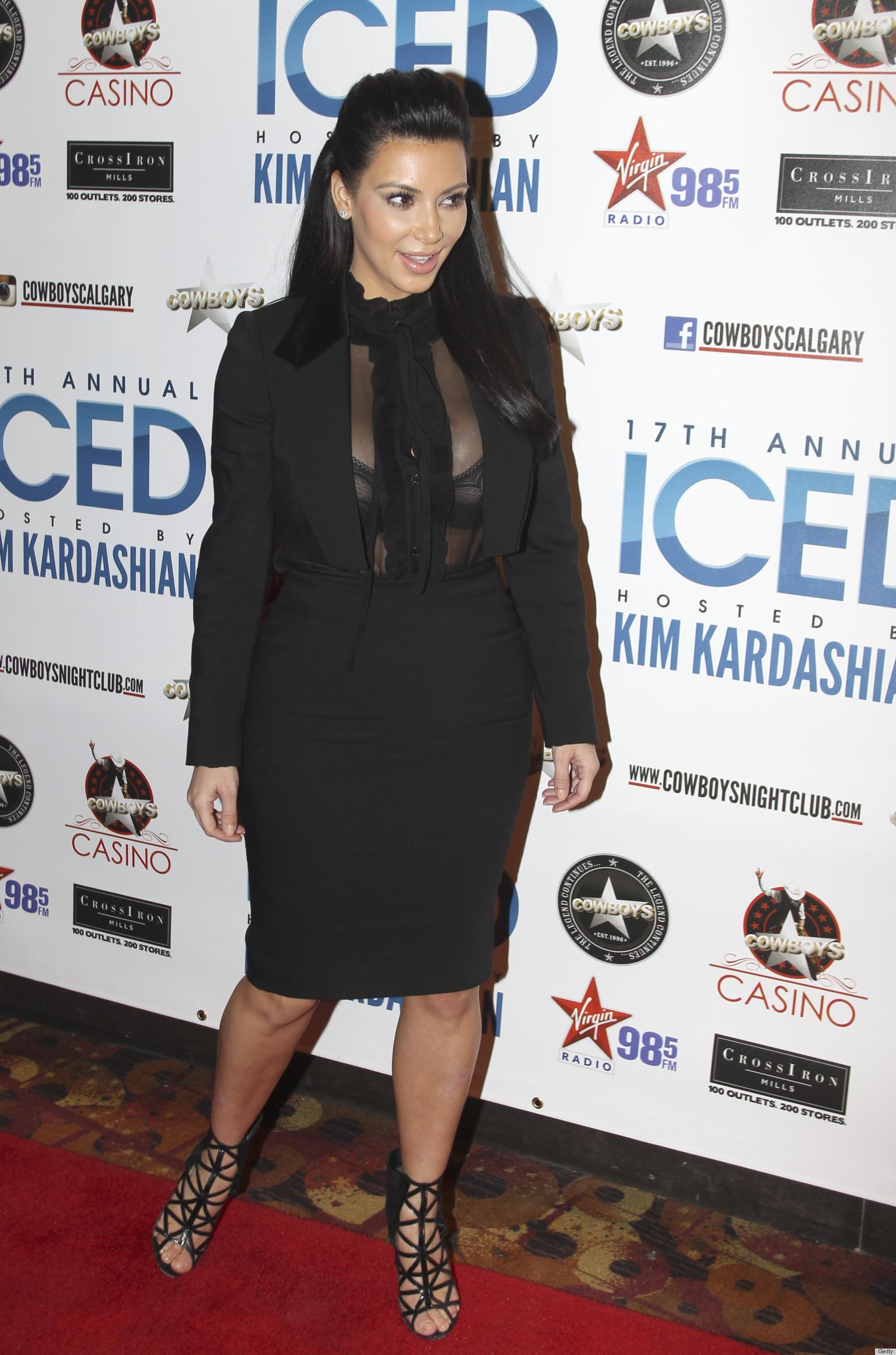 Kim Kardashian Pregnancy Style Proves Sexy Sheer Looks