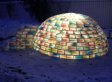Daniel Gray Builds Colorful Igloo That's Truly Unbelievable (PHOTOS)