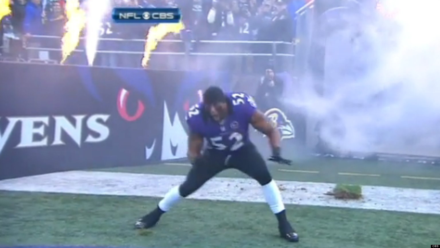 Ray Lewis Introduction Dance: Ravens' LB Makes Possibly ...