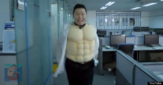 psy right now